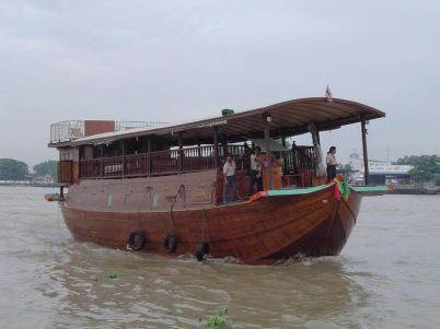 rice barge tour
