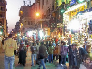 Cairo - people in old market