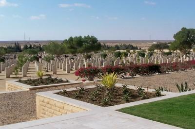 El Alamein war grages