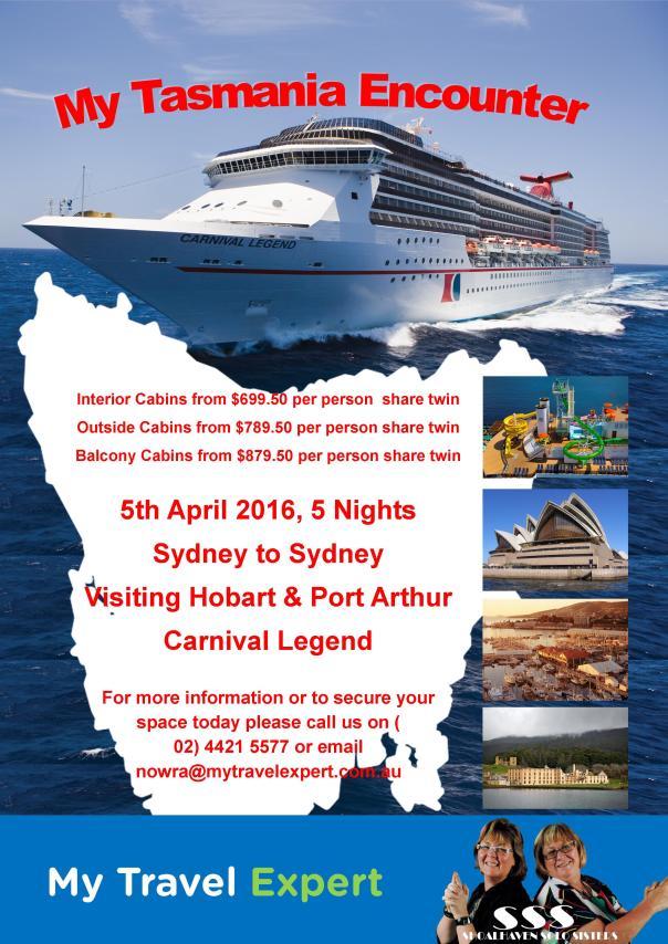 Tasmania Cruise