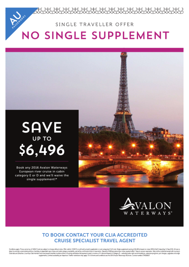 Avalon Solo Deals