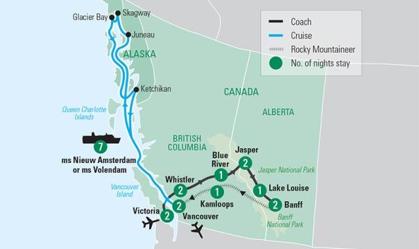travelmarvel rockies and alaska