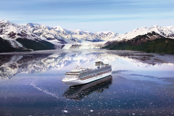 Diamond Princess College Fjord Alaska