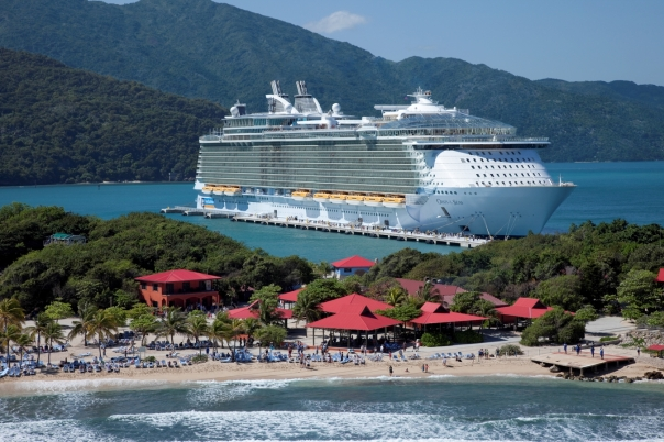 Aerial Labadee - Haiti Oasis of the Seas - Royal Caribbean International