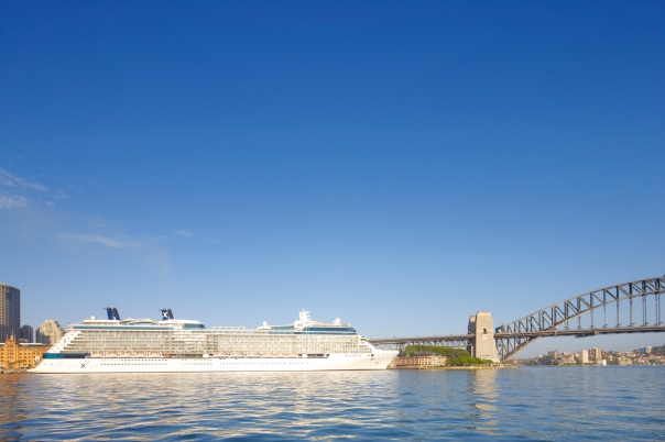 Celebrity Solstice - Harbour Bridge 2 - Richard Birch